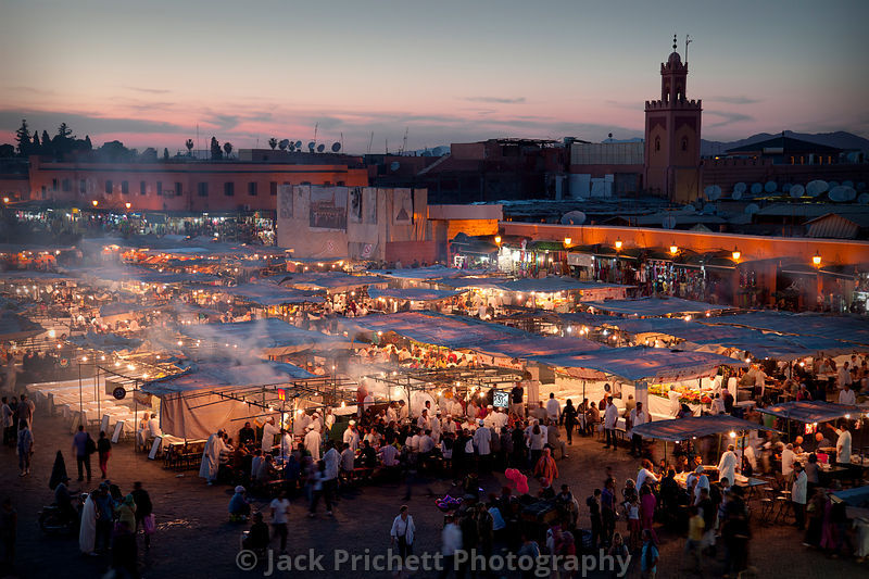 Place Djemaa marketplace, Marakkesh