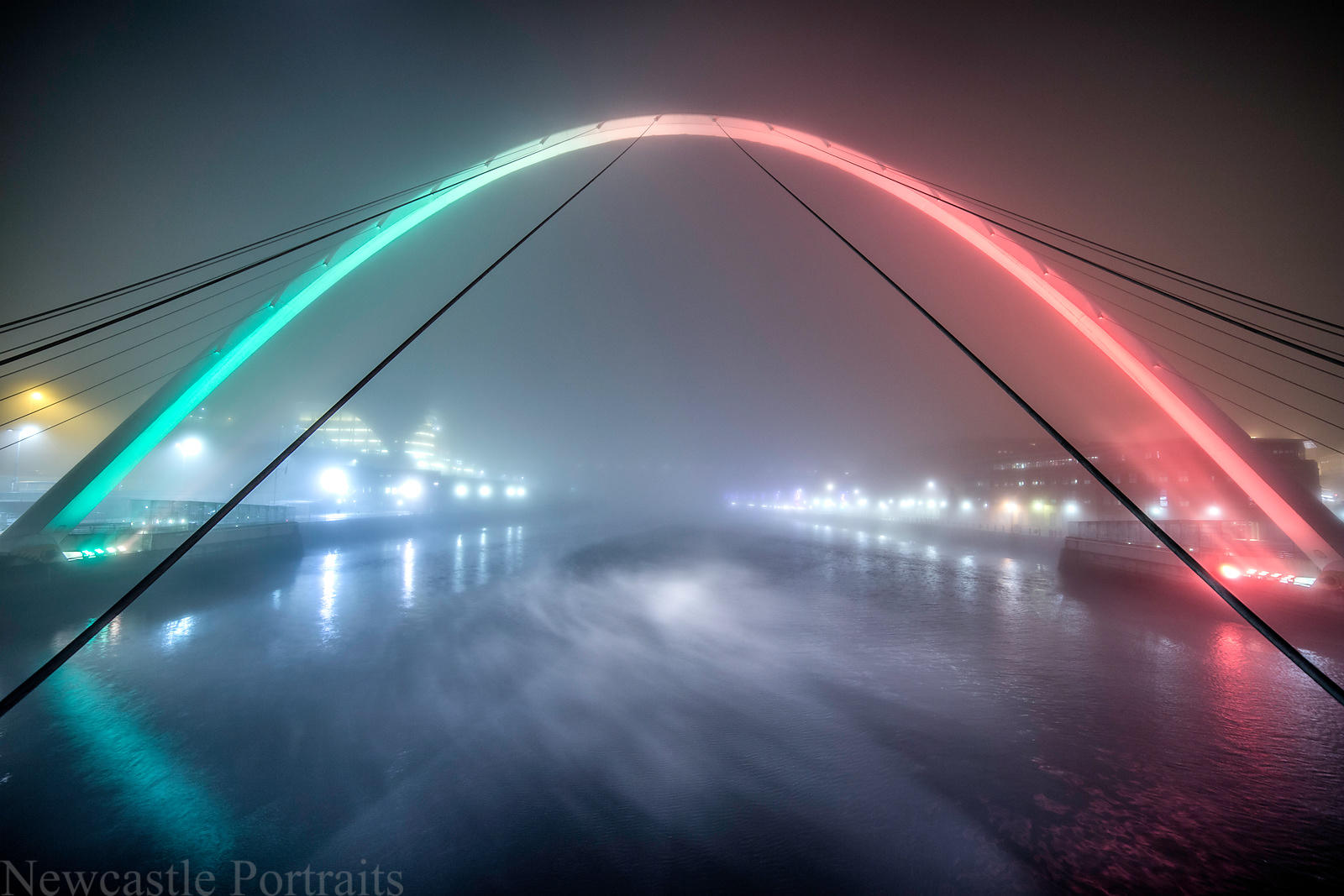 Foggy Tyne