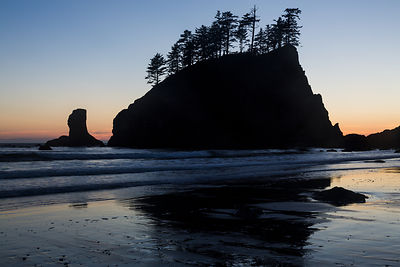 Sea Stacks at Dusk #2
