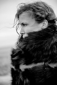 Woman in fur #3