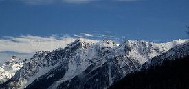 VIEW OF THE CAUCASUS MOUNTAINS FROM SOCHI