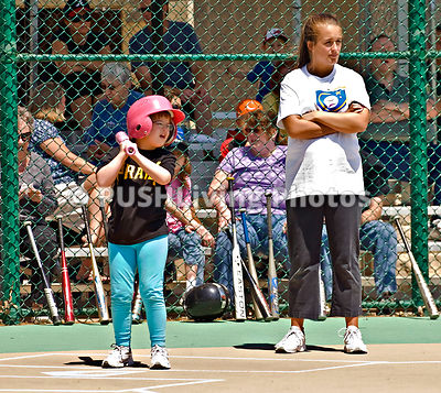 Young Softball Player