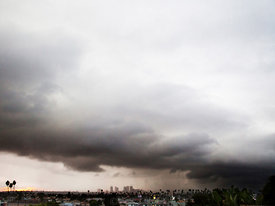 Storm over Los Angeles