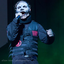Corey Taylor, vocals, Slipknot