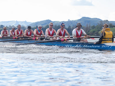 Taken during the World Masters Games - Rowing, Lake Karapiro, Cambridge, New Zealand; ©  Rob Bristow; Frame 486 - Taken on: T...
