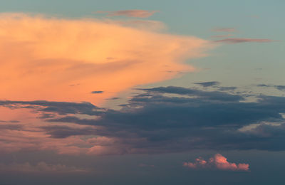 Sunset Thunderheads