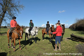 Tina Cook Cross Country Clinic Nurstead Court 19th Feb