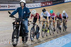 Women Keirin 7-12 Final, 2017/2018 Track Ontario Cup #1, Mattamy National Cycling Centre, Milton On, December 10, 2017