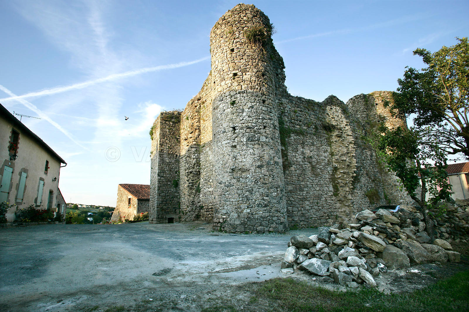 photo du Donjon de Chateaumur