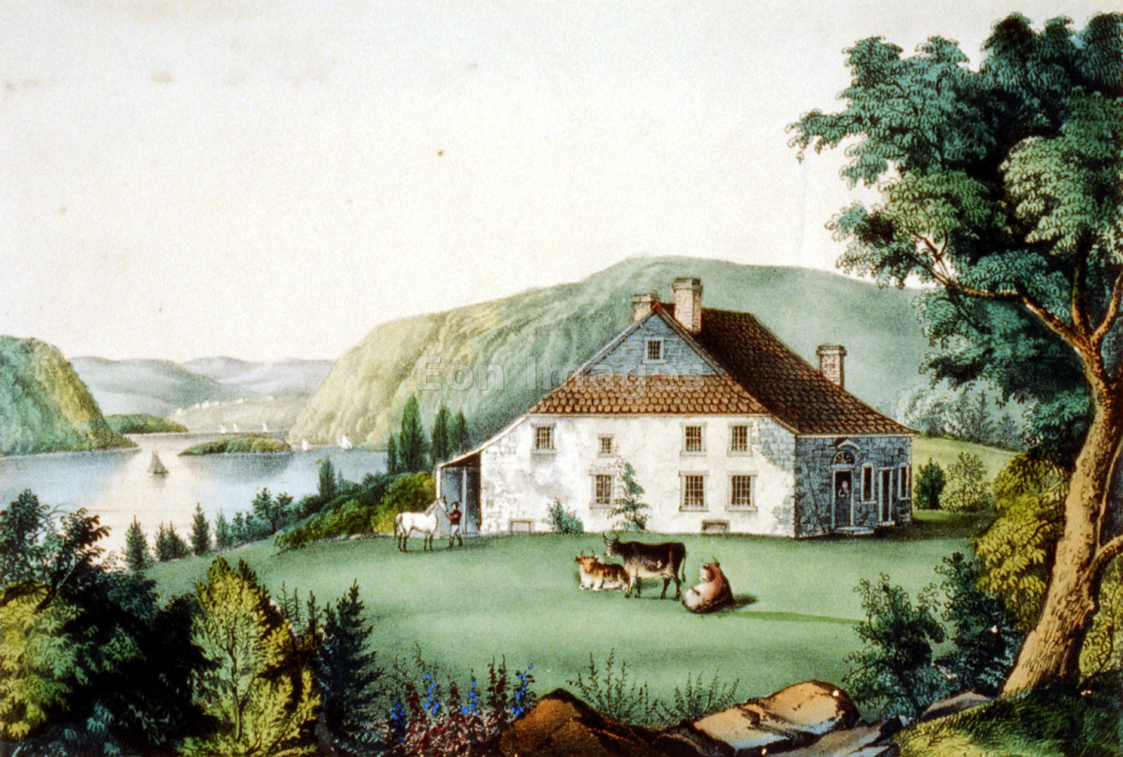 Washington's headquarters at Newburgh during American Revolution