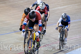U17 Men Keirin 1/2 Final, 2017/2018 Track Ontario Cup #3, Mattamy National Cycling Centre, Milton On, February 10, 2018