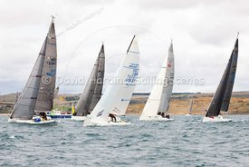 Sportsboat start, Weymouth Regatta 2018