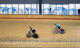Master C/D Men Sprint 3-4 Final. Ontario Track Championships, Mattamy National Cycling Centre, Milton, On, March 4, 2017