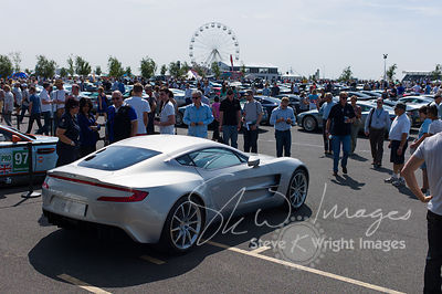 Aston Martin One-77 - Part of the Aston Martin Centenary at the Silverstone Classic 2013
