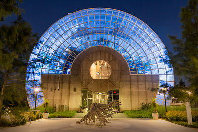 Myriad Botanical Gardens at Night