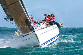 Elise Two, GBR740L, Dufour 40, 20160702490