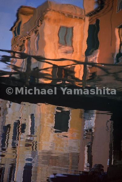 A Palace in Cannaregio is reflected in the Lagoon, Venice