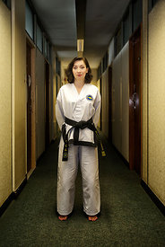 Pauline Lockhart. Tae Kwon Do.