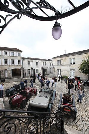 Circuit des Remparts Angoulême 2011.Rallye International.Photo François BAUDIN/Agence AUSTRAL.