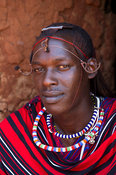 Maasai warrior, Kenya