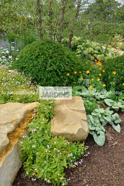 la photothèque | LES PLUS BEAUX JARDINS | Massif, jardin de rocaille ...