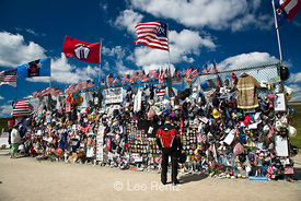 Donations at Flight 93 Memorial