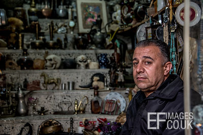 Kurdish Antique Shop Owner