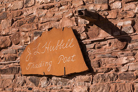 Sign at Entrance to Hubbell Trading Post