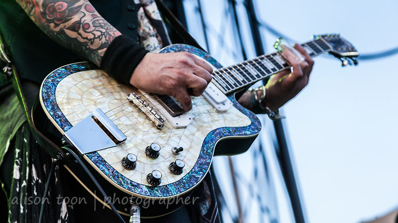 Keith Nelson, guitar, Buckcherry