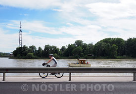 Racing down Danube