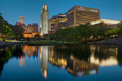 Reflections of Downtown Omaha