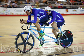 Mixed Time Trial B. Track Day 2, Toronto 2015 Parapan Am Games, Milton Pan Am/Parapan Am Velodrome, Milton, On; August 11, 2015