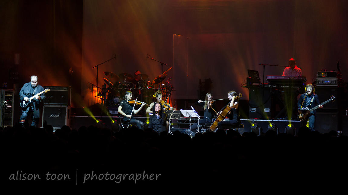 Marillion plus In Priase of Folly string quartet, Leicester