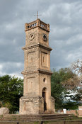Clocktower built in 1903 in memory of Queen Victoria, Mangochi, Malawi