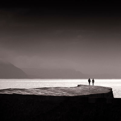 Two on The Cobb | Lyme Regis | 2015