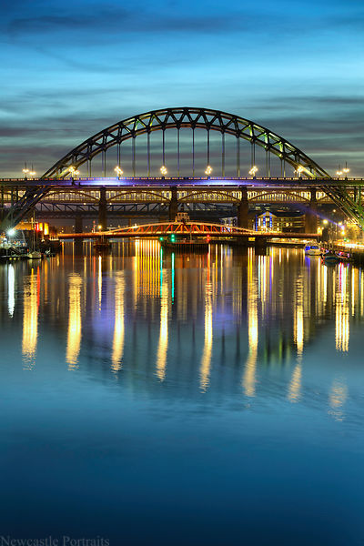 Blue Hour on the Tyne