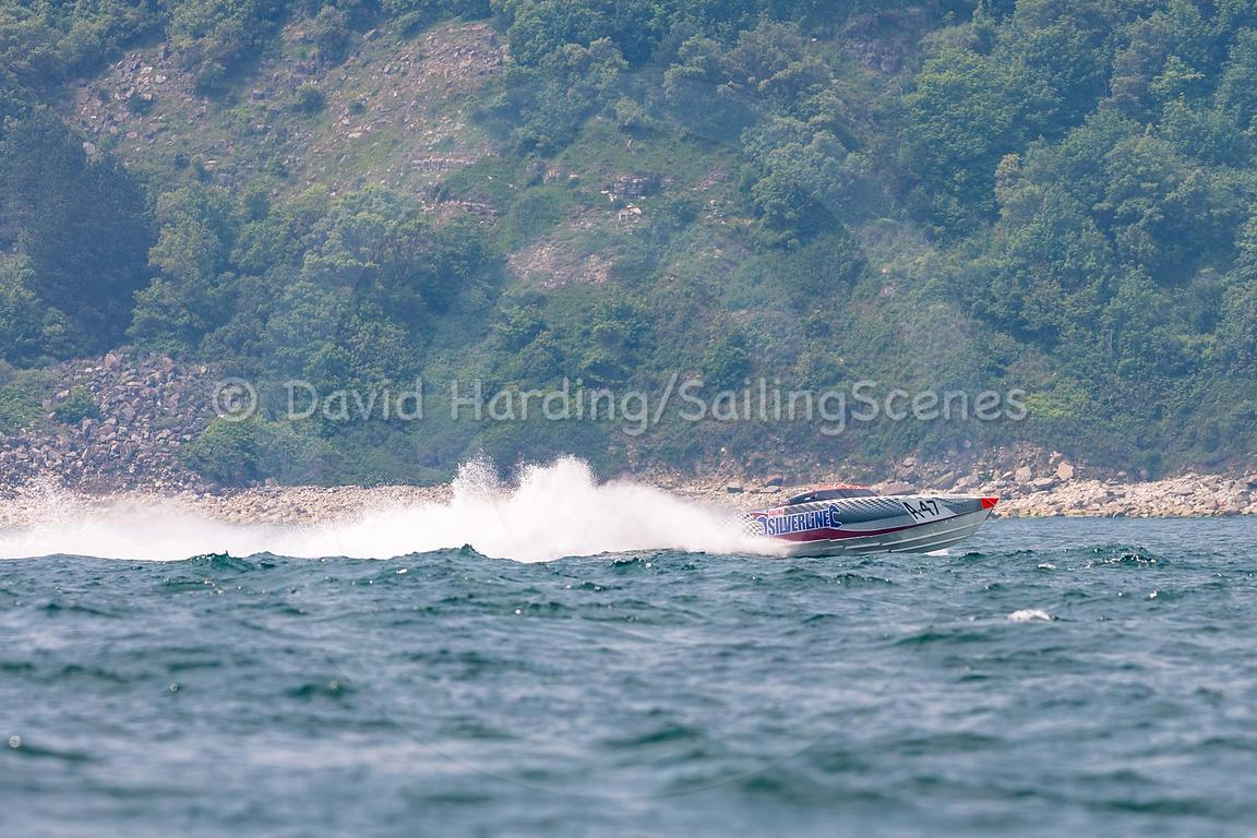 Silverline, A-47, Fortitudo Poole Bay 100 Offshore Powerboat Race, June 2018, 20180610039