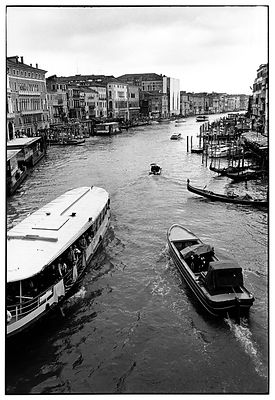 Grand canal, Venise - 2000.