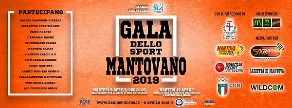 Gala dello Sport Mantovano 2019 | Green Park | 09.04.2019 | Foto High Res