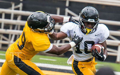 Iowa Football Kids Day Practice, August 16, 2014