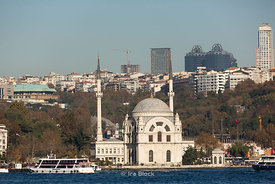 The Molla Çelebi Mosque on the Bosphorus in Istanbul.