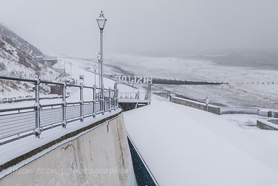 Snow day, Cromer, Norfolk