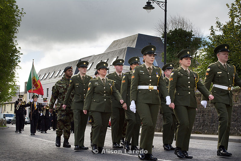 1916 100 year commemoration in Castlebar, Ireland by Alison Laredo
