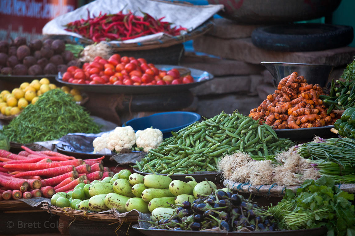 Vegetables at Sadar Market , Jodhpur, Rajasthan, India