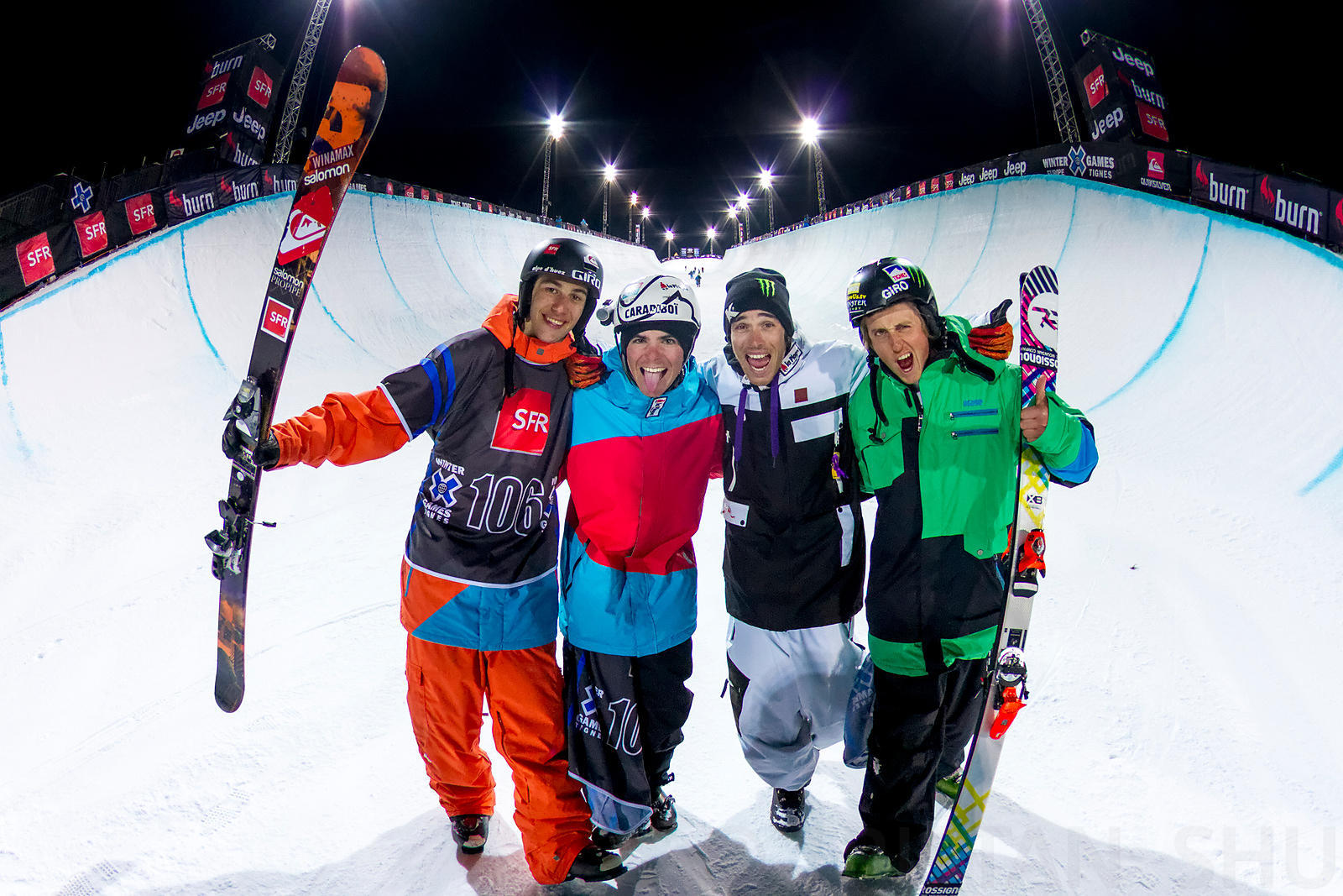 This one was shot at the end of the Superpipe Winter X Games Europe final, following Thomas Krief Silver Medal. March 16th, 2...