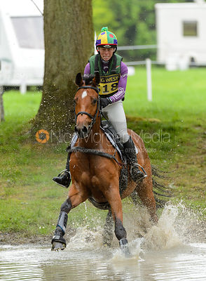 Emily Philp and UNCHAINED MELODY - Rockingham International Horse Trials 2017