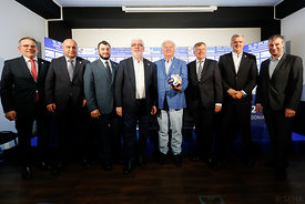 during the Final Tournament - Closing press conference - Final Four - SEHA - Gazprom league, Skopje, 15.04.2018, Mandatory C...