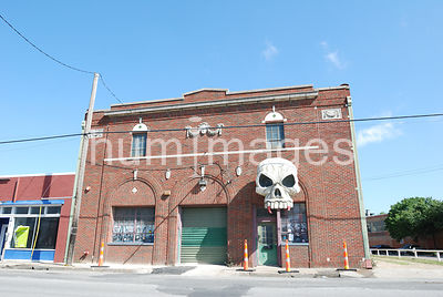 Haunted House in daytime exterior in Deep Ellum area of Dallas, Texas