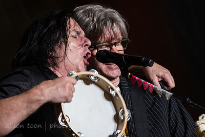 John Helmer and Steve Hogarth