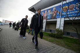 Stipe Mandalinic during the Final Tournament - Final Four - SEHA - Gazprom league, Team training in Brest, Belarus, 06.04.201...